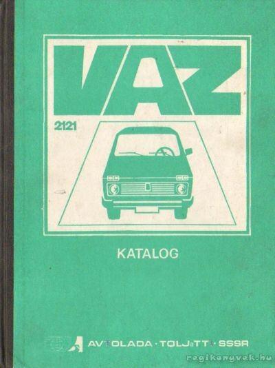 VAZ-2121 típusú gépkocsi - A pótalkatrészek katalógusa