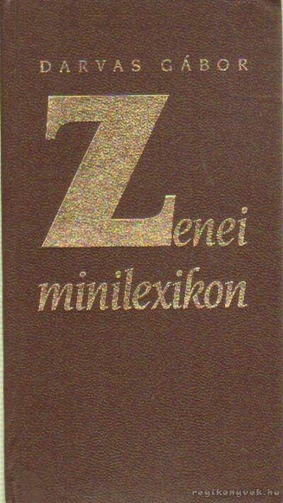 Zenei minilexikon
