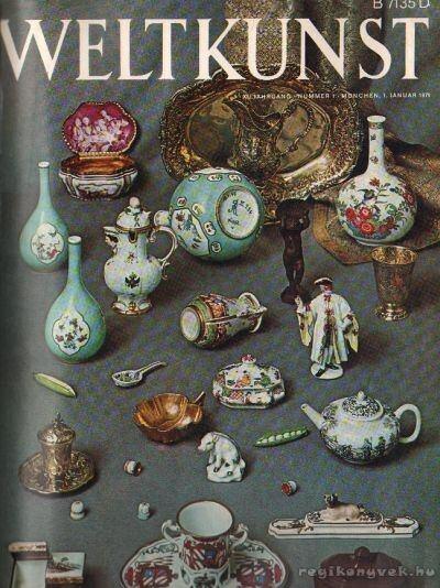 Weltkunst 1971. XLI Jahrgang 1-12. (fél évfolyam)
