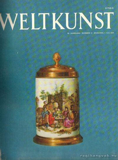 Weltkunst 1970. XL. Jahrgang 13-24. (fél évfolyam)