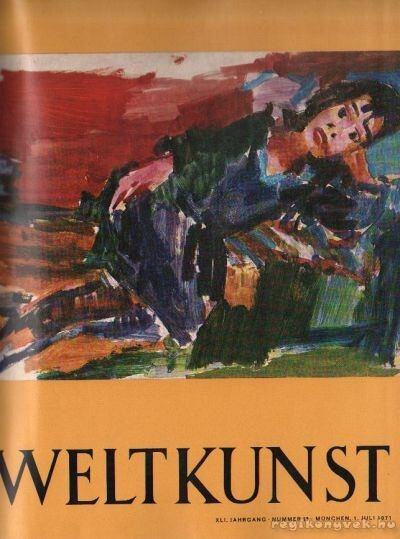 Weltkunst 1971. XLI. Jahrgang 13-24. (fél évfolyam)