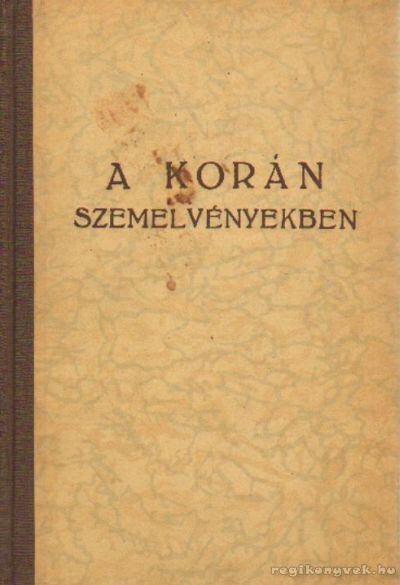 A Korán szemelvényekben