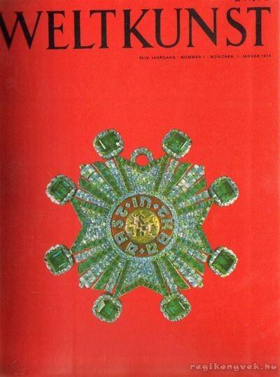 Weltkunst 1974. XLIV. Jahrgang 1-12. (fél évfolyam)