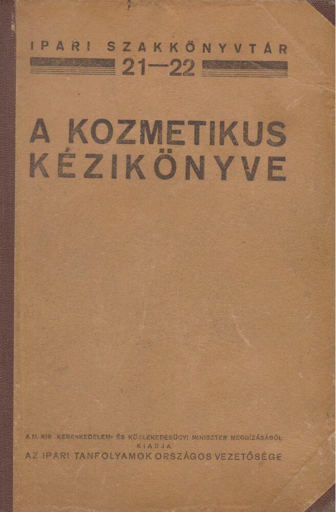 A kozmetikus kézikönyve