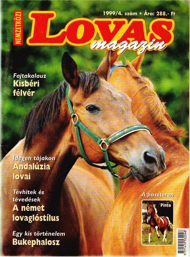 Nemzetközi Lovas magazin 1999/4.