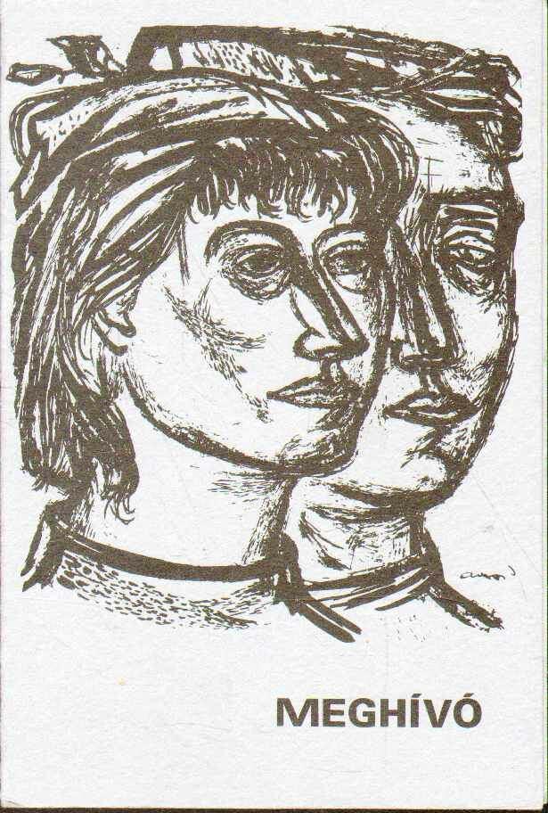 Meghívó Ámos Imre (1907-1945) és Anna Margit festőművészek múzeumának megnyitására