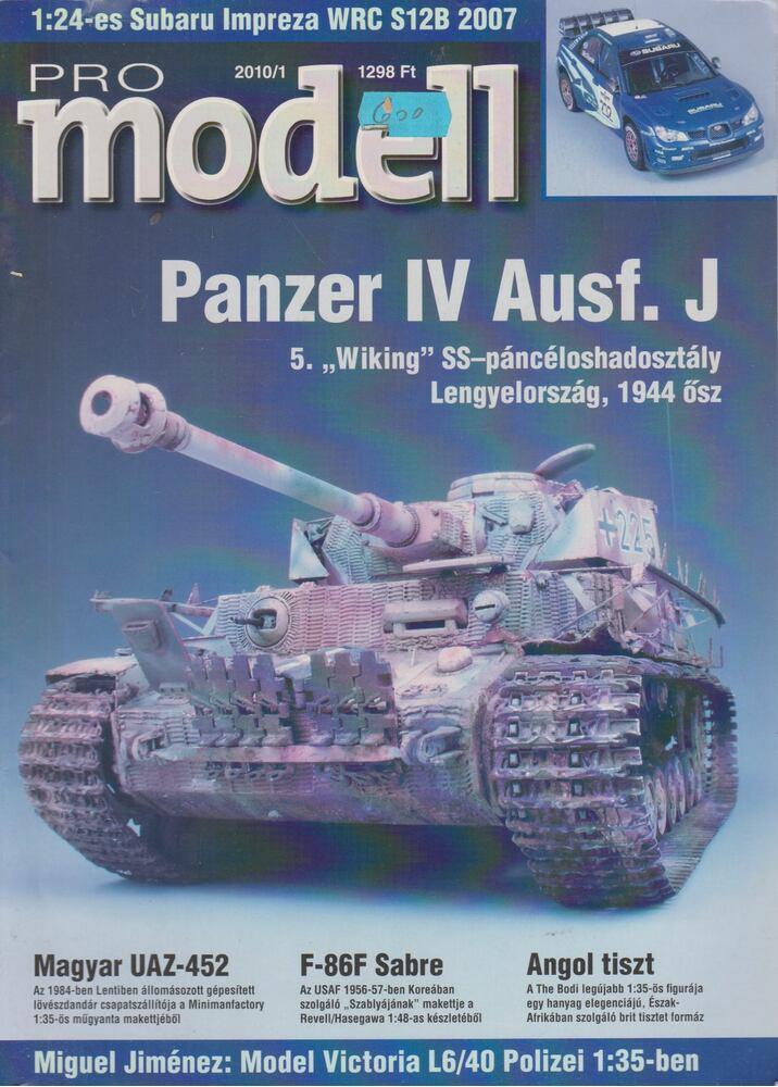 Pro Modell 2010/1. szám