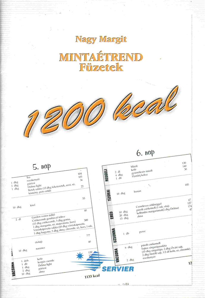 1200 kcal