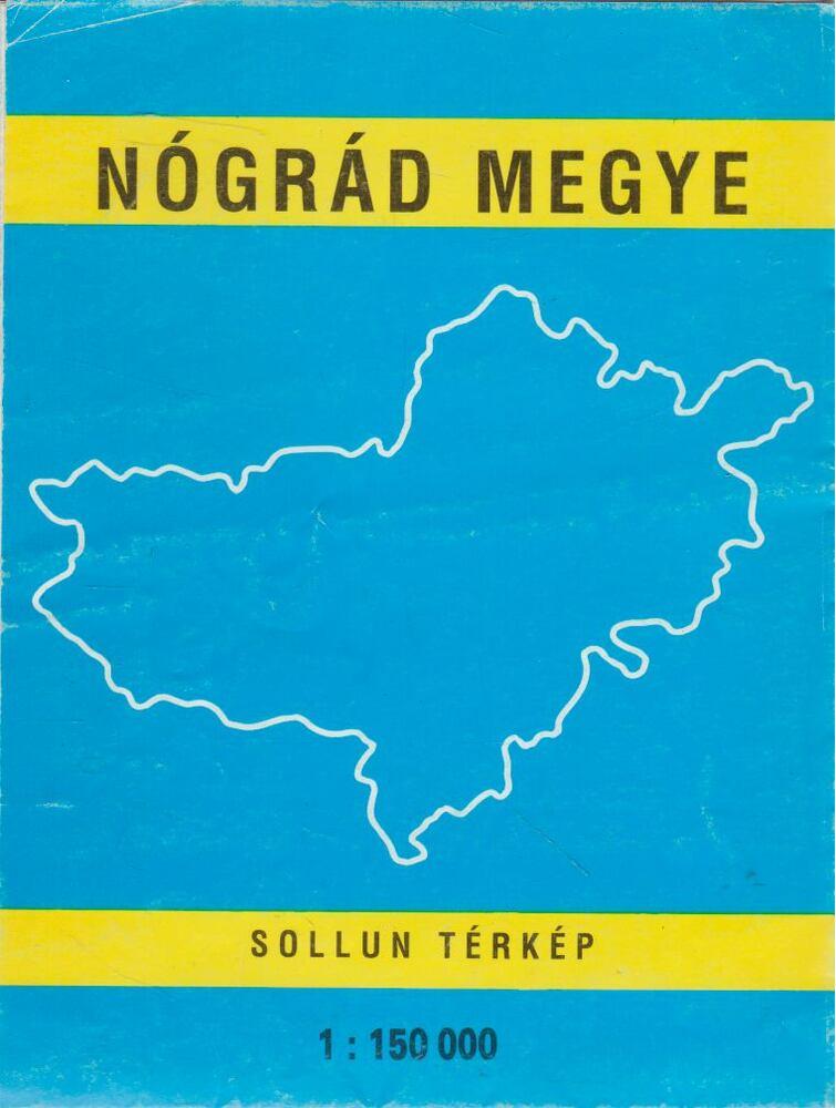 Nógrád megye 1:150000