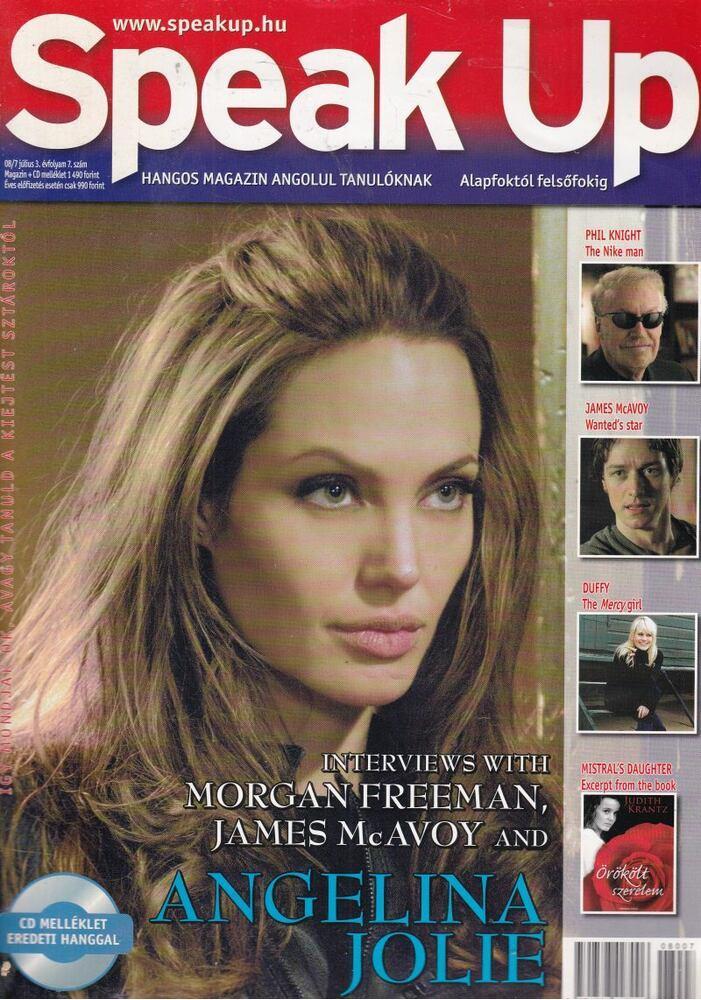 Speak Up III. évf. 7. szám 2008. július