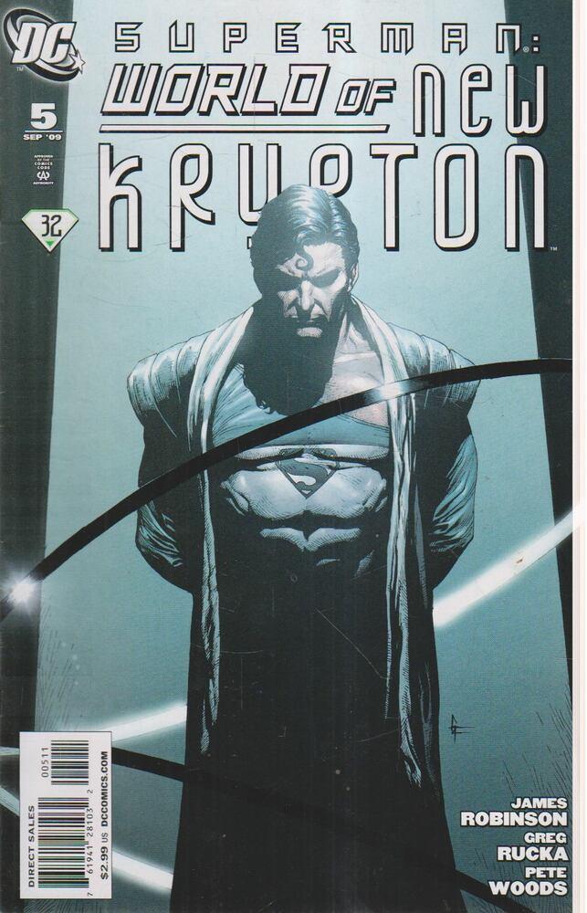 Superman: World of New Krypton 5.