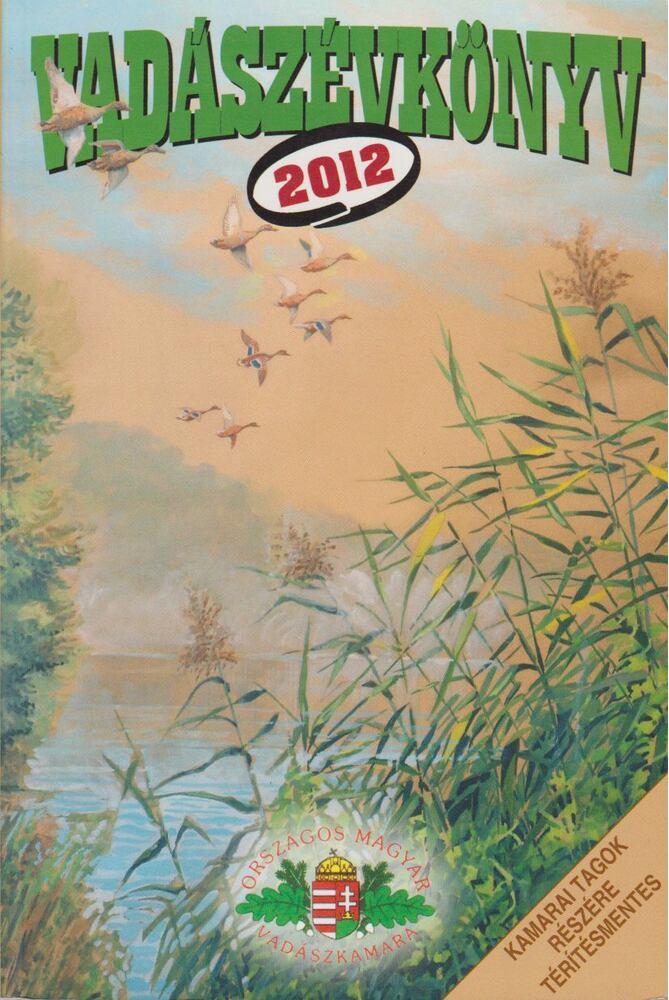 Vadászévkönyv 2012