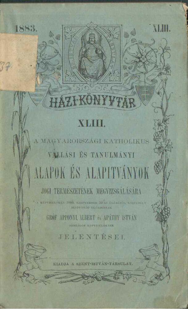 A magyarországi katholikus vallási és tanulmányi
