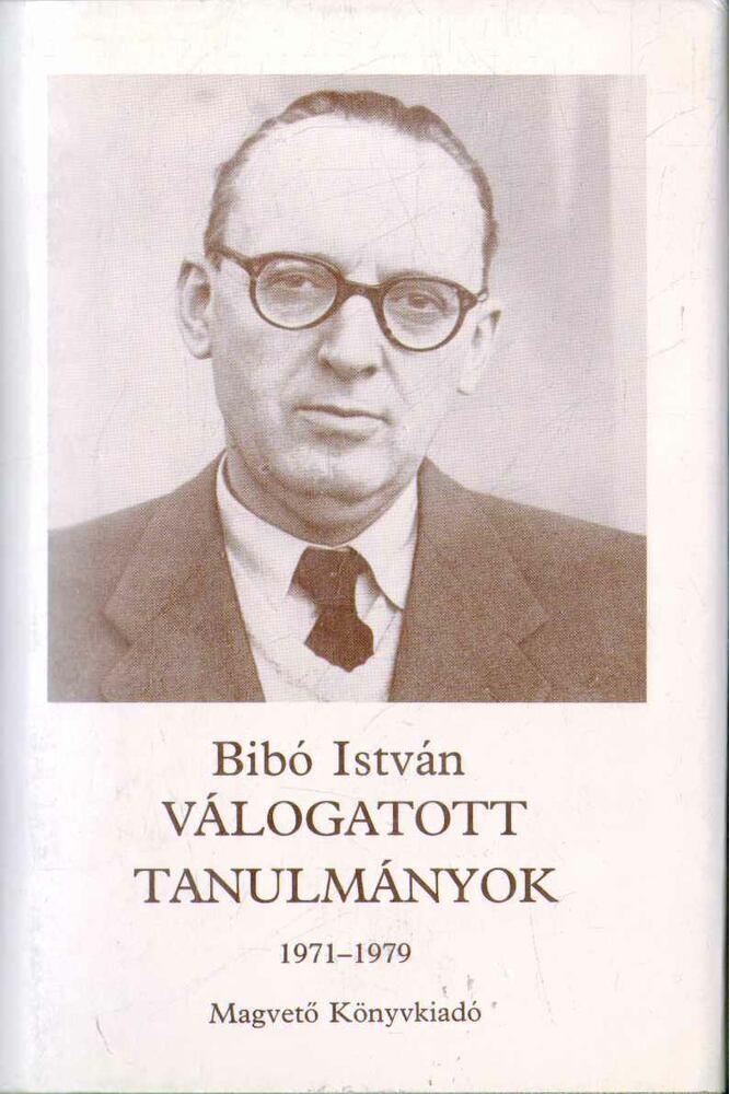 Válogatott tanulmányok III. 1971-1979