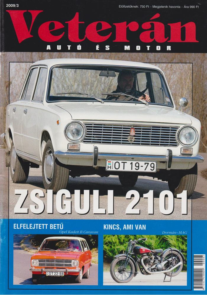 Veterán autó és motor 2009/3