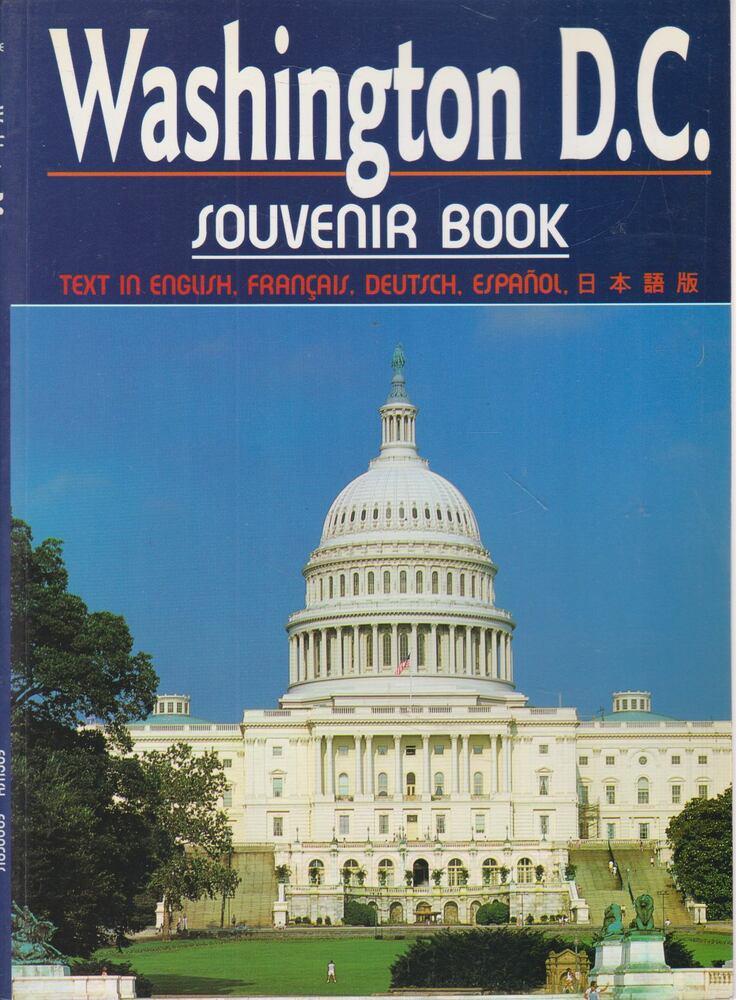 Washington D. C. Souvenir Book
