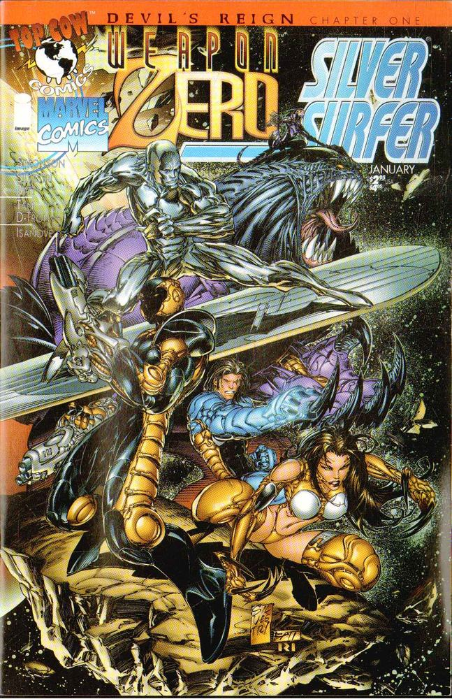 Weapon Zero / Silver Surfer Vol. 1 No. 1