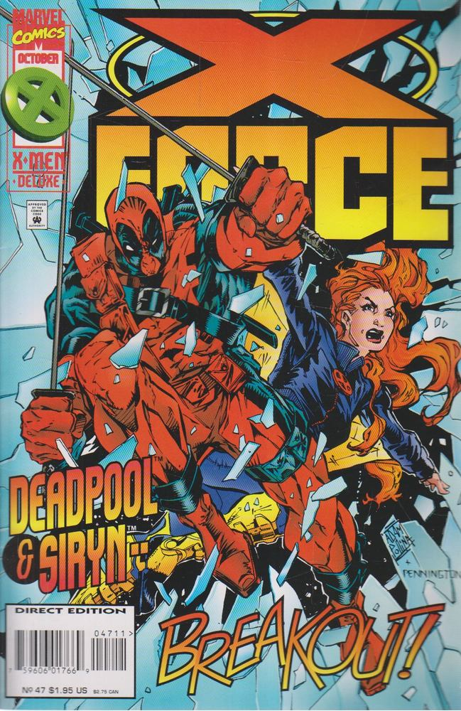 X-Force Vol. 1. No. 47.