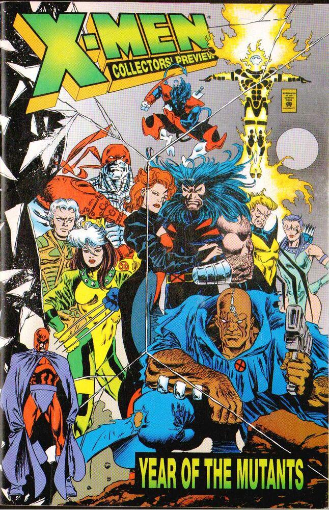 X-Men: Year of the Mutants Collectors' Preview Vol. 1 No. 1