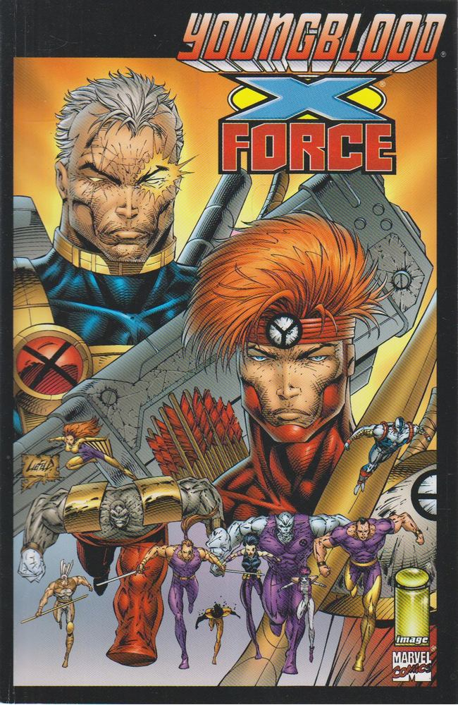Youngblood/X-Force Volume 1. Number 1.