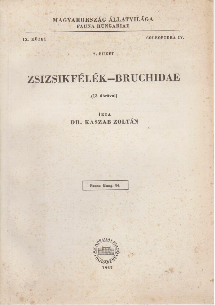 Zsizsikfélék - Bruchidae