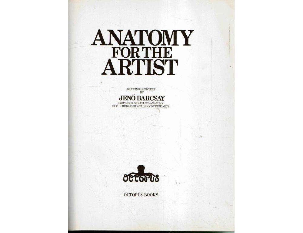 Anatomy for the Artist - Barcsay Jenő - Régikönyvek webáruház