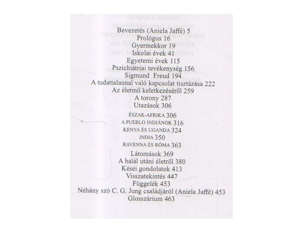 Carl Gustav Jung - Emlékek 5b3e03336a