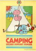 Camping Hungary térkép - --