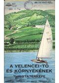 A Velencei-tó és környékének turistatérképe