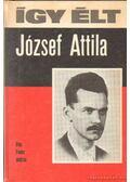 Így élt József Attila