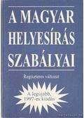 A magyar helyesírás szabályai (Regiszteres változat)