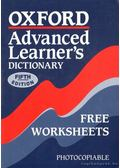 Oxford Advanced Learner's Dictionary Free Worksheets