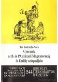 Gyermek a 18. és 19. századi Magyarország és Erdély színpadjain