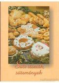 Sült tészták, sütemények