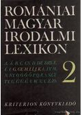 Romániai magyar irodalmi lexikon 2. G-Ke - Balogh Edgár