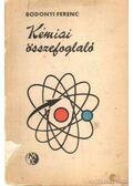 Kémiai összefoglaló - Bodonyi Ferenc