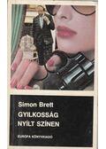 Gyilkosság nyílt színen - Brett, Simon