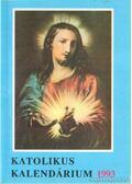 Katolikus Kalendárium 1993 - Czoborczy Bence
