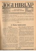 Jogi hirlap 1933. VII. évfolyam 1-52. szám (teljes) - Dr. Boda Gyula (szerk.)