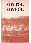 Adytól Adyról - Dr. Fenyvesi Margit