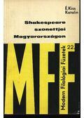 Shakespeare szonettjei Magyarországon - É. Kiss Katalin