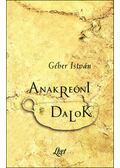 Anakreóni dalok - Géher István