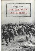 1848 júniusától novemberéig - Görgey István