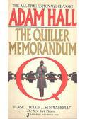The Quiller Memorandum - Hall, Adam