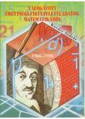Válogatott érettségi-felvételi feladatok matematikából 1966-1996