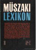 Műszaki lexikon 3. N-Z.