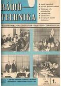 Rádiótechnika 1972. évfolyam (teljes)
