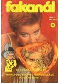 Fakanál 34. 1993/1. - 101 pizzarecept