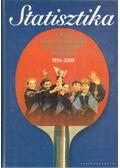 Statisztika - A világ legeredményesebb sportcsapatának krónikája 1954-2000 - Komlósi Gábor
