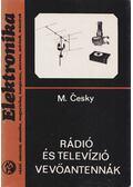 Rádió- és televízió vevőantennák - M. Cesky